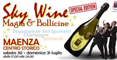 Sky Wine a Maenza – Magia e Bollicine