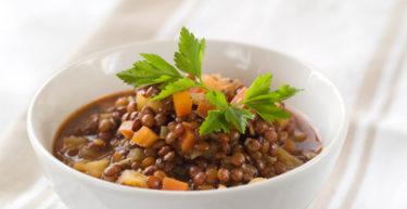 Zuppa di lenticchie alla ventotenese